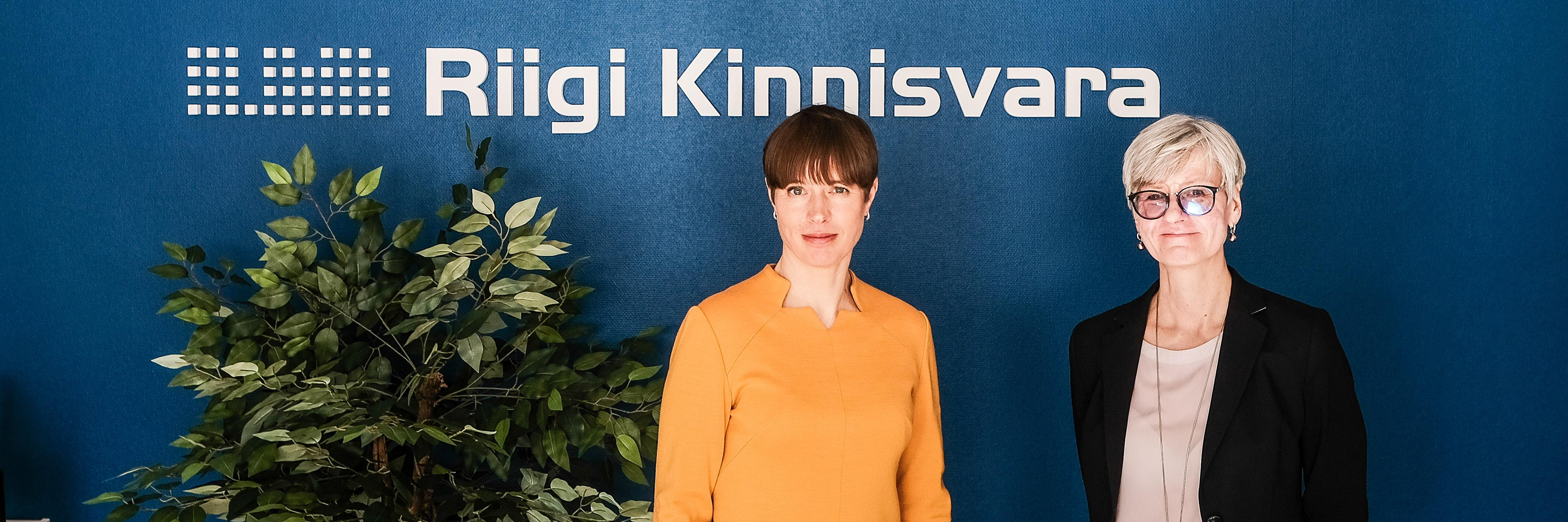 President Kersti Kaljulaid külastas Haapsalu riigimaja kaugtöökeskust