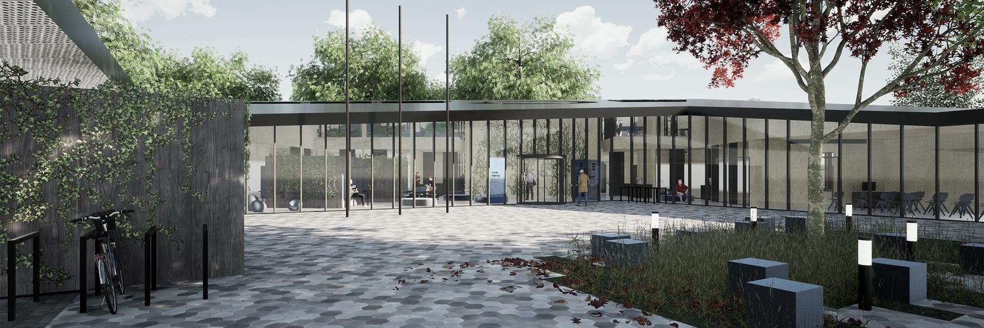 Kärdla riigi- ja kohtumaja arhitektuurivõistluse võitis Karisma arhitektid