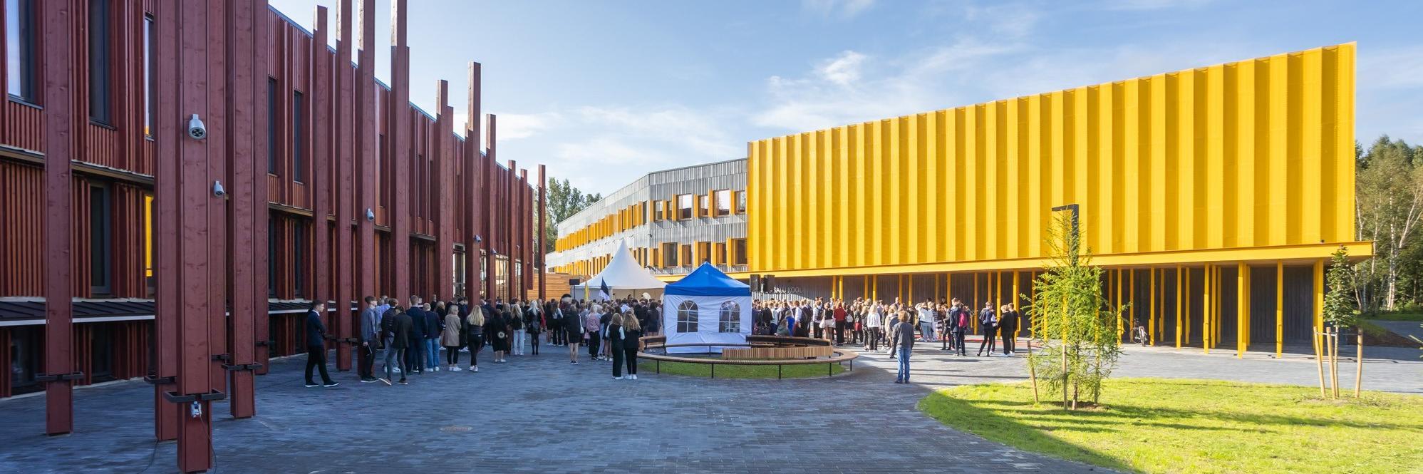 Harku vallas avati 15 miljonit eurot maksma läinud hariduslinnak